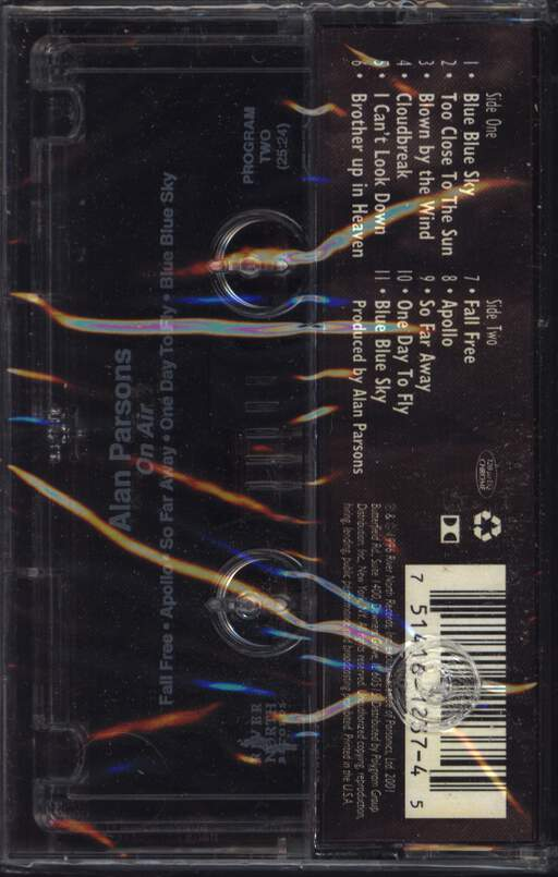 Alan Parsons: On Air, Compact Cassette
