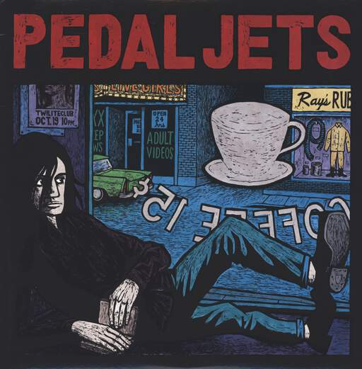 The Pedaljets: The Pedaljets, LP (Vinyl)