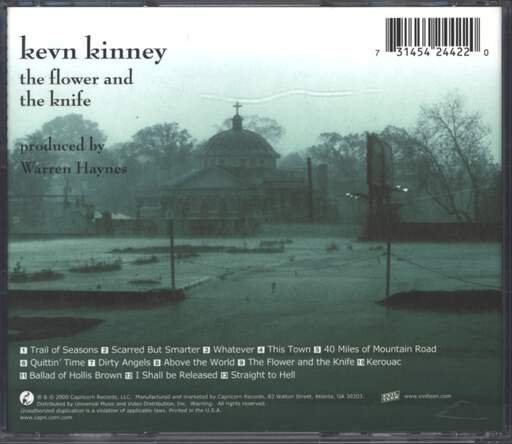 Kevn Kinney: The Flower And The Knife, CD