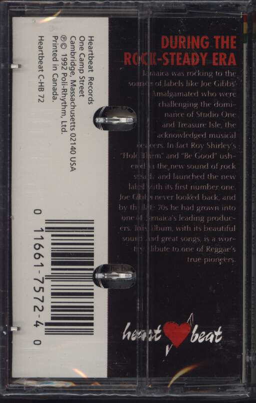 Various: Explosive Rock Steady - Joe Gibbs' Amalgamated Label 1967-1973, Compact Cassette