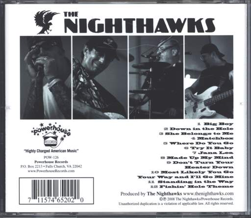 The Nighthawks: American Landscape, CD