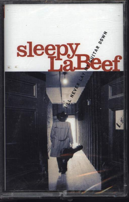 Sleepy La Beef: I'll Never Lay My Guitar Down, Compact Cassette