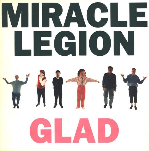 Miracle Legion: Glad, Mini LP (Vinyl)