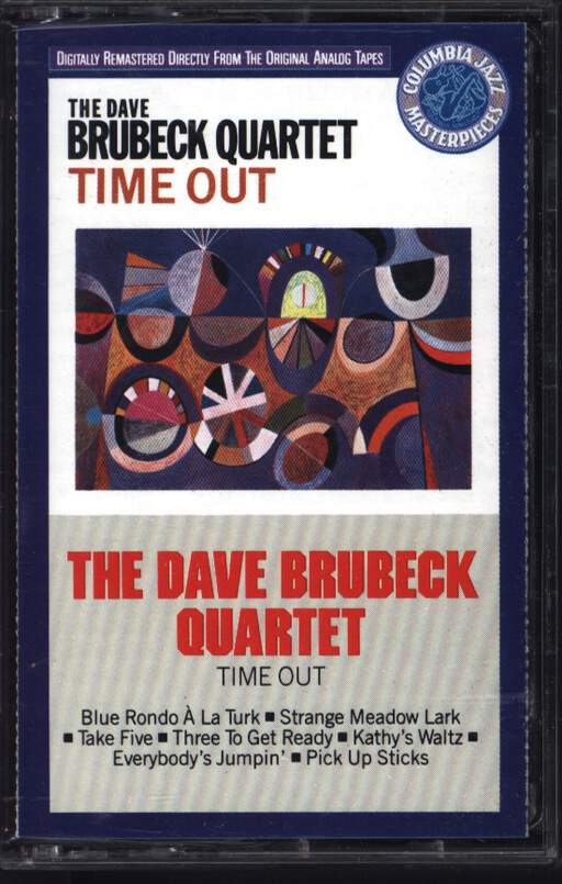 The Dave Brubeck Quartet: Time Out, Compact Cassette