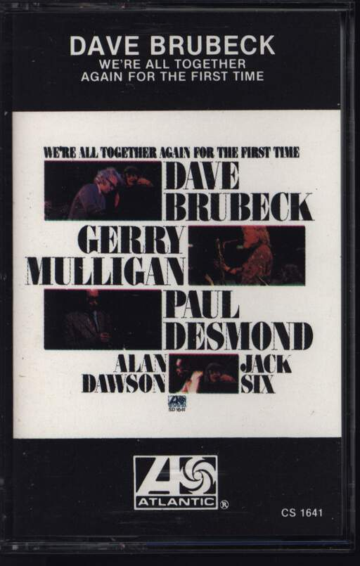 Dave Brubeck: We're All Together Again For The First Time, Compact Cassette