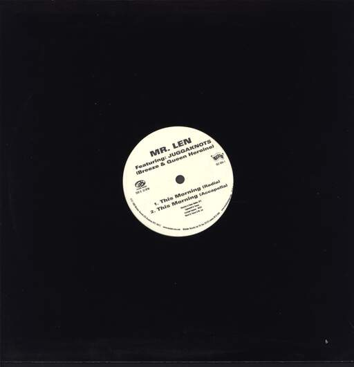 "Mr Len: This Morning, 12"" Maxi Single (Vinyl)"