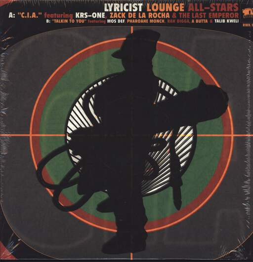 "Various: Lyricist Lounge All-Stars, 12"" Maxi Single (Vinyl)"