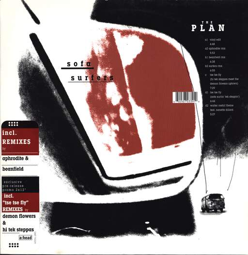"Sofa Surfers: The Plan, 12"" Maxi Single (Vinyl)"