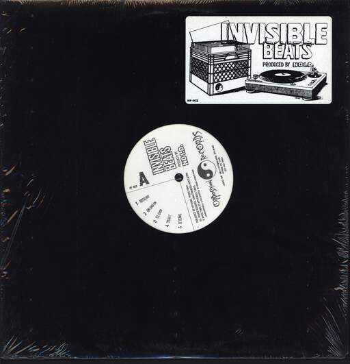 No I.D.: Invisible Beats, LP (Vinyl)