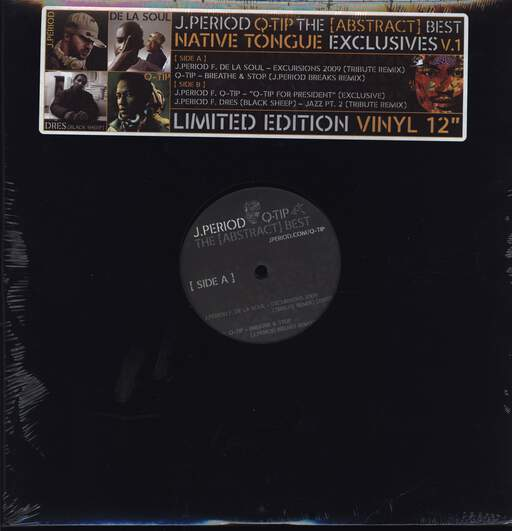 "DJ J-Period: The [Abstract] Best Native Tongue Exclusives V.1, 12"" Maxi Single (Vinyl)"