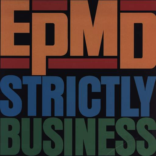 "Epmd: Strictly Business, 12"" Maxi Single (Vinyl)"