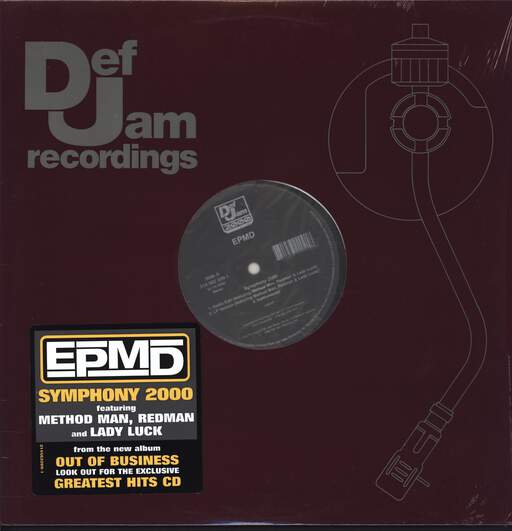 "Epmd: Symphony 2000 / Right Now, 12"" Maxi Single (Vinyl)"