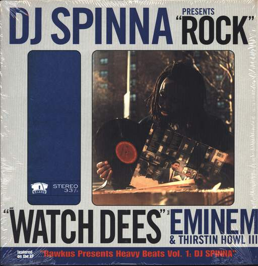 "DJ Spinna: Rock / Watch Dees, 12"" Maxi Single (Vinyl)"