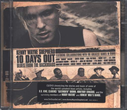 Kenny Wayne Shepherd: 10 Days Out: Blues From The Backroad, CD