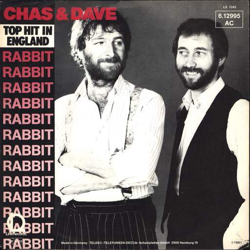 "Chas And Dave: Rabbit, 7"" Single (Vinyl)"