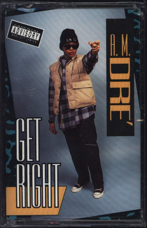 A.M. Dre': Get Right, Compact Cassette