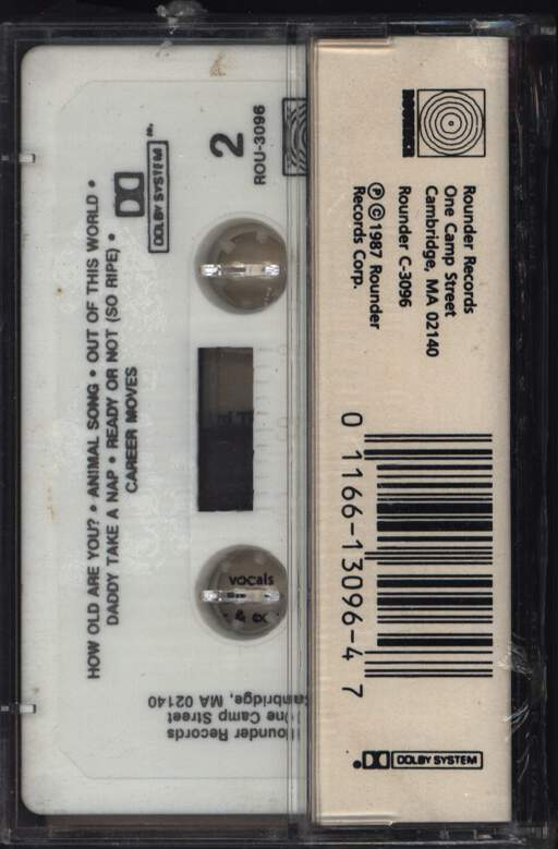 Loudon Wainwright III: I'm Alright, Compact Cassette