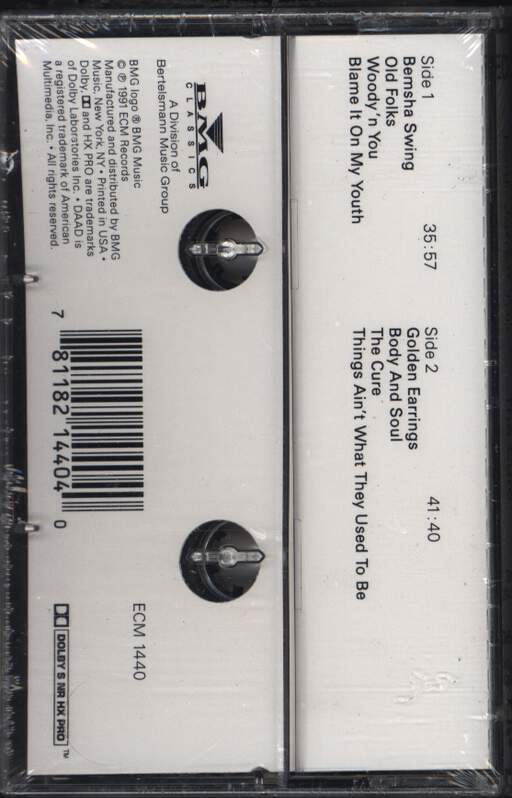 Keith Jarrett Trio: The Cure, Compact Cassette