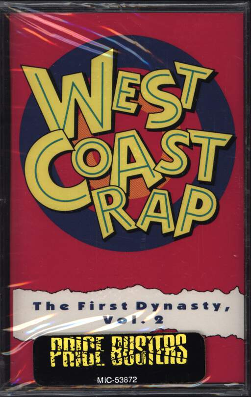 Various: West Coast Rap - The First Dynasty, Vol. 2, Compact Cassette