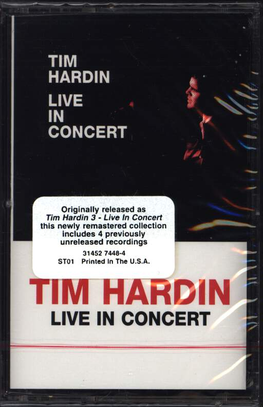 Tim Hardin: Live In Concert, Compact Cassette