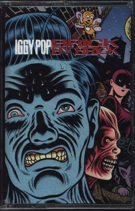 Iggy Pop: Brick By Brick, Compact Cassette