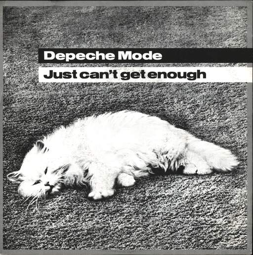 "Depeche Mode: Just Can't Get Enough, 7"" Single (Vinyl)"