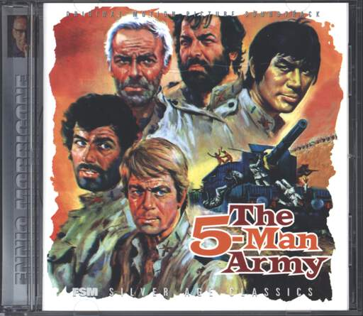 Ennio Morricone: The Five Man Army (Original Soundtrack), CD