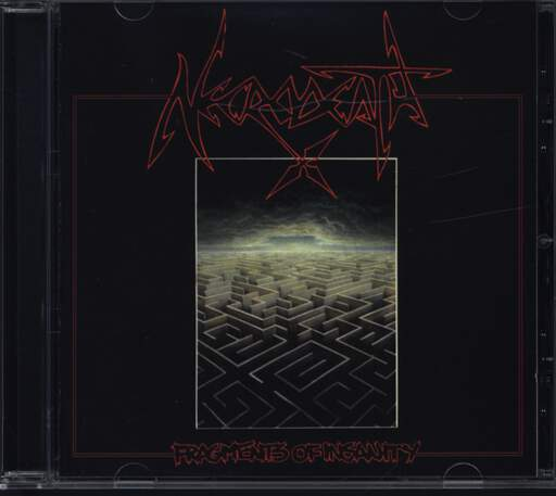 Necrodeath: Fragments Of Insanity, CD