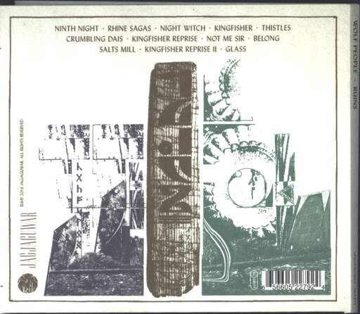 Wolf People: Ruins, CD