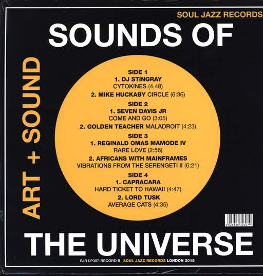 "Various: Sounds Of The Universe (Art + Sound) (Record B), 12"" Maxi Single (Vinyl)"