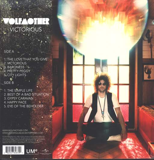 Wolfmother: Victorious, LP (Vinyl)