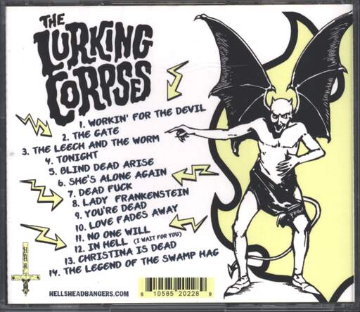 The Lurking Corpses: Workin' For The Devil, CD