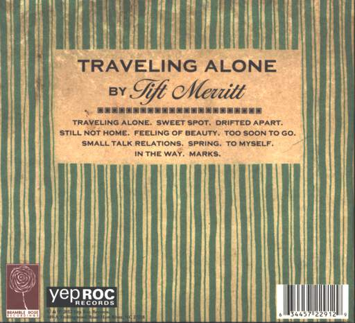 Tift Merritt: Traveling Alone, CD