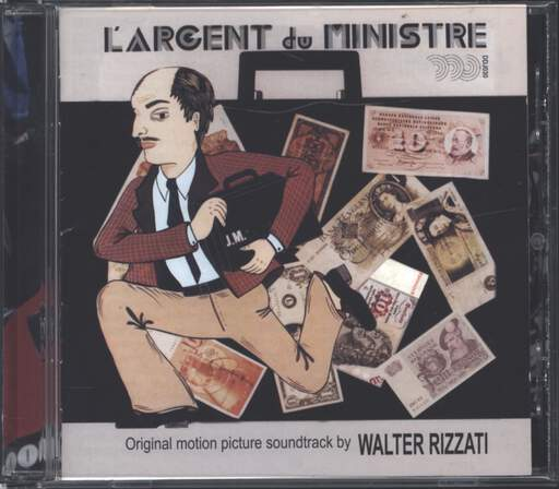 Walter Rizzati: L'Argent Du Ministre (Original Motion Picture Soundtrack), CD