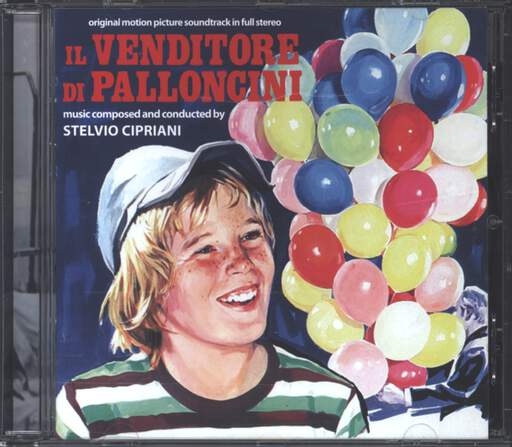 Stelvio Cipriani: Il Venditore Di Palloncini (Original Motion Picture Soundtrack In Full Stereo), CD