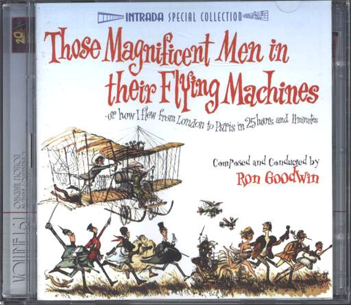 Ron Goodwin: Those Magnificent Men In Their Flying Machines, CD