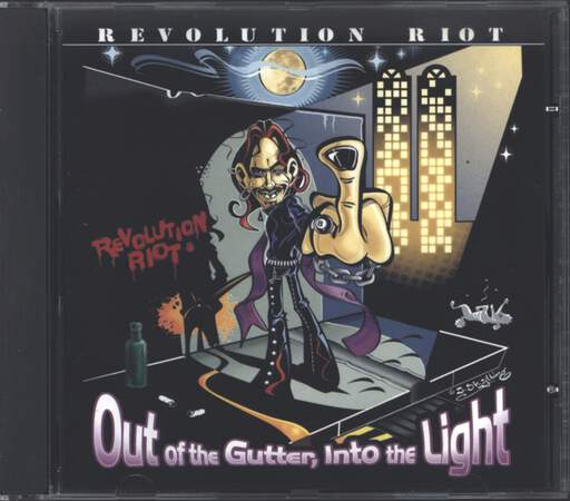 Revolution Riot: Out Of The Gutter, Into The Light, CD