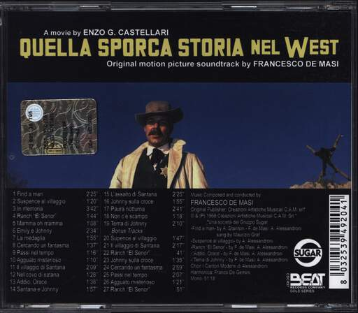Francesco De Masi: Quella Sporca Storia Nel West, CD