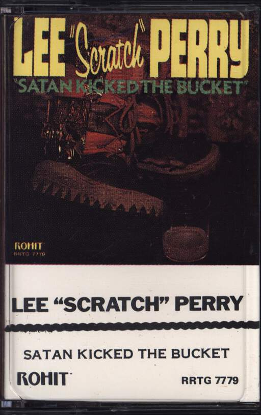 LEE PERRY - Satan Kicked The Bucket - Cassette