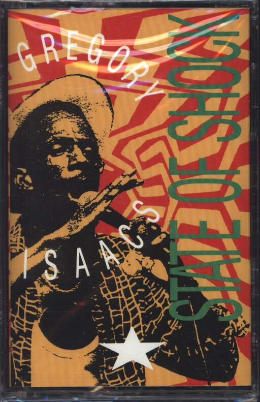 GREGORY ISAACS - State Of Shock - Cassette