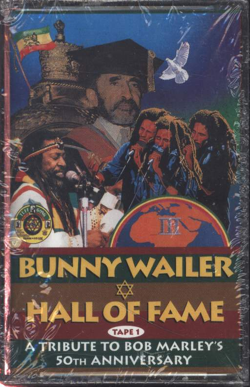 BUNNY WAILER - Hall Of Fame A Tribute To Bob Marley's 50th Anniversary - Cassette x 2