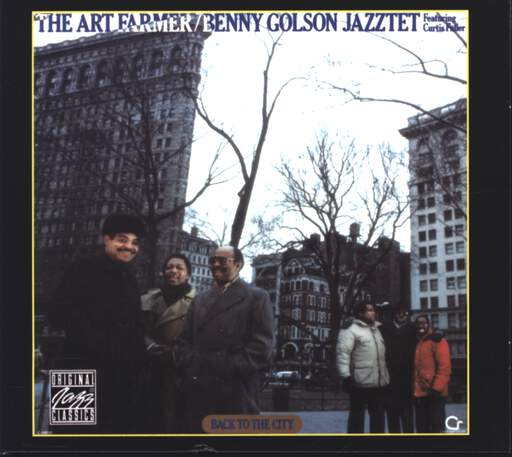 THE JAZZTET - Back To The City - CD