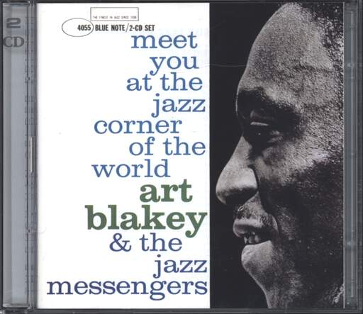 ART BLAKEY & THE JAZZ MESSENGERS - Meet You At The Jazz Corner Of The World - CD x 2