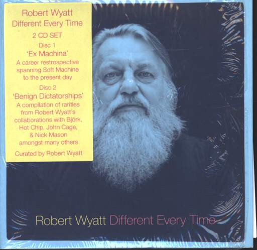 ROBERT WYATT - Different Every Time - CD x 2