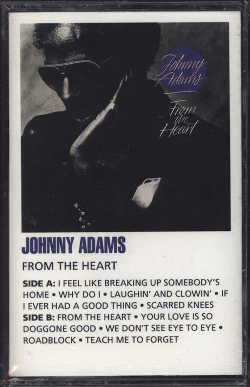 JOHNNY ADAMS - From The Heart - Cassette