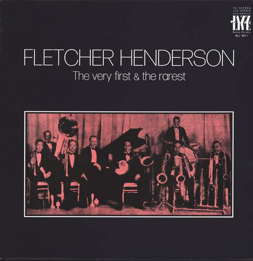 FLETCHER HENDERSON - The Very First & The Rarest - 33T