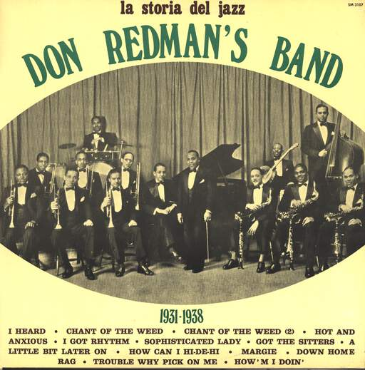 DON REDMAN'S BAND - 1931 - 1938 - 33T