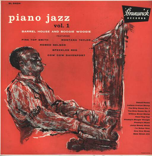 BARREL HOUSE - Piano Jazz Vol. 1 - Barrel House And Boogie Woogie - 33T