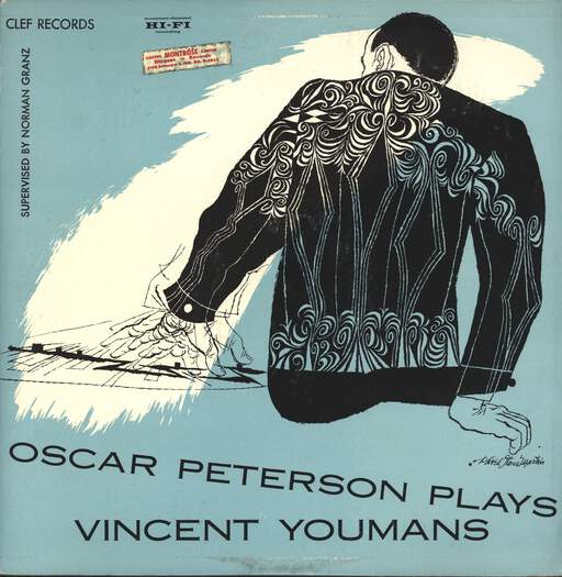 OSCAR PETERSON - Oscar Peterson Plays Vincent Youmans - 33T