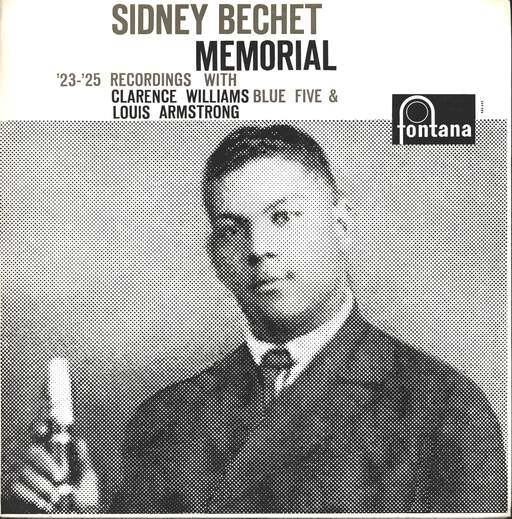 CLARENCE WILLIAMS' BLUE FIVE - Sidney Bechet Memorial - 33T